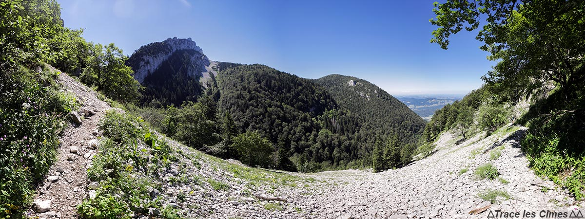 Combe du Chorolant - Cul-de-Lampe - Massif de la Chartreuse