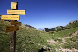Itinéraires randonnées au Col de la Sure - Massif de la Chartreuse