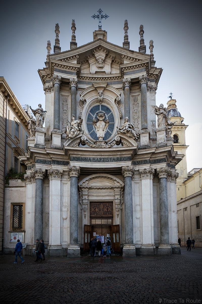 Les plus belles glises voir turin blog voyage trace for L architecture baroque