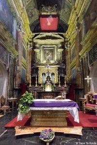 Intérieur Choeur Autel Église Turin Chiesa di Santa Cristina Torino