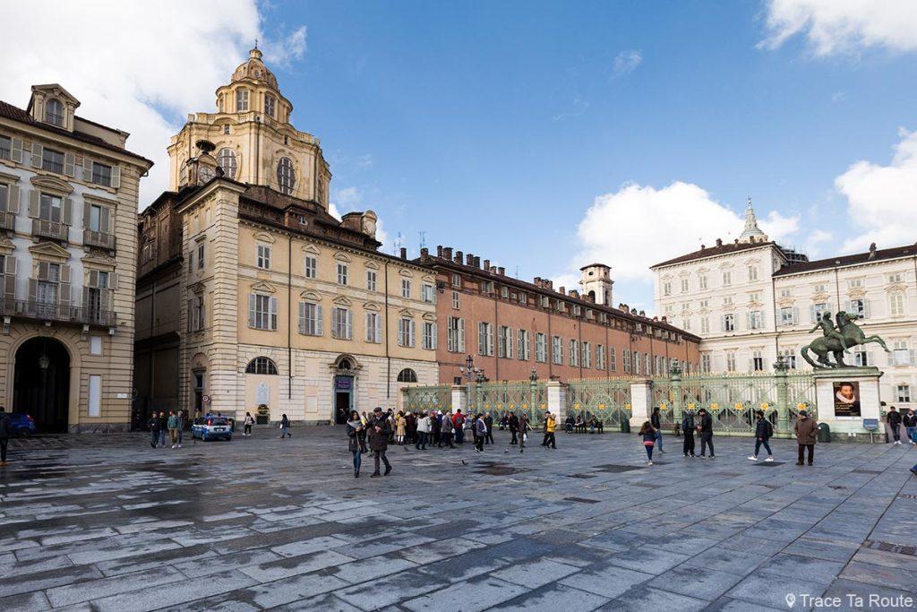 Turin Église Saint-Laurent - Chiesa di San Lorenzo Torino