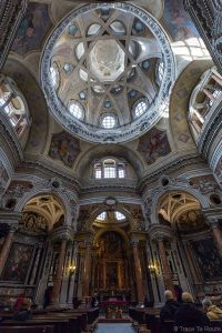 Intérieur Nef Coupole Dôme Église Saint-Laurent Turin - Chiesa di San Lorenzo Torino