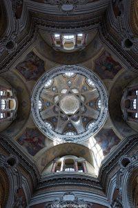 Intérieur Coupole Dôme Église Saint-Laurent Turin - Chiesa di San Lorenzo Torino