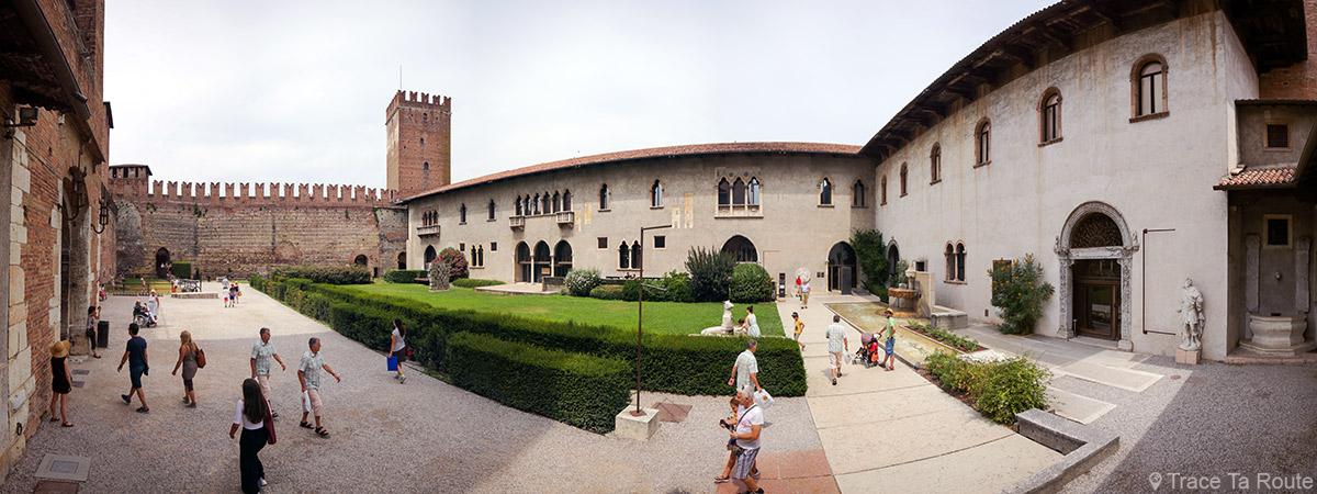 Cour intérieure du Musée Château Castelvecchio de Vérone