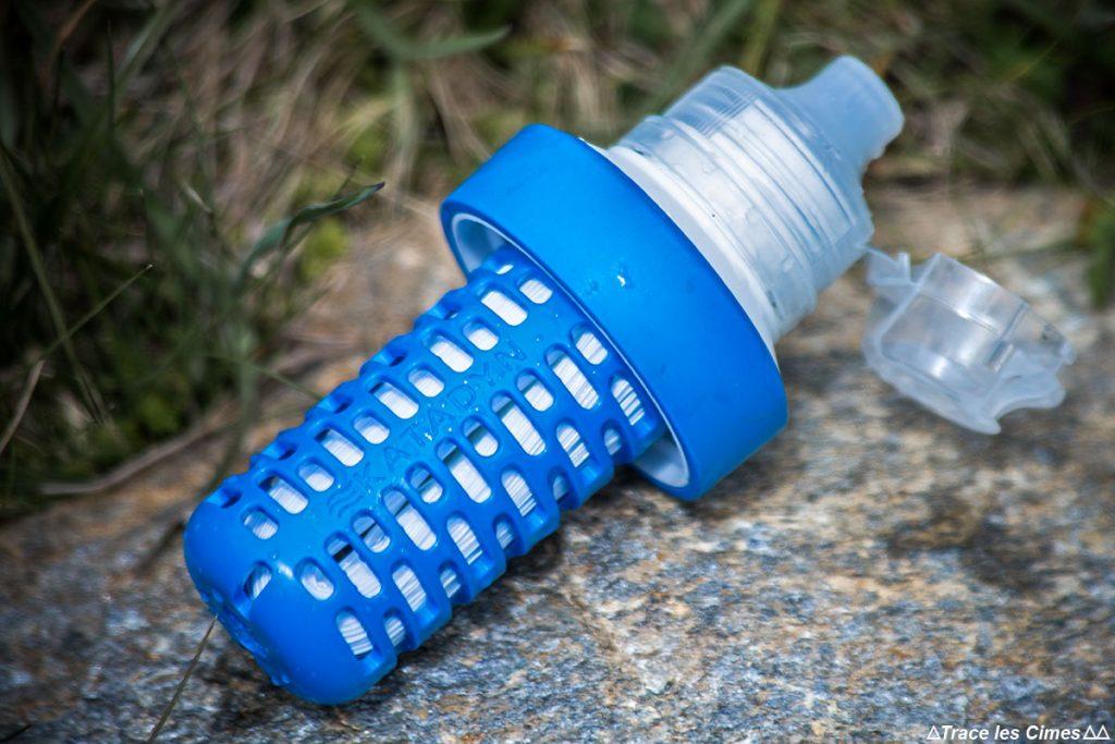 Système d'hydratation cartouche filtrante EZ-Clean Membrane™ filtre à eau Gourde Katadyn Befree