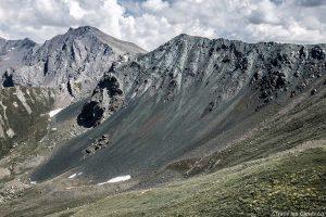 Pierrier du Rocher Blanc, Queyras (Hautes-Alpes)