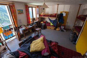 Chambre Gîte d'étape Les Gabelous à Saint-Véran, Queyras (Hautes-Alpes)