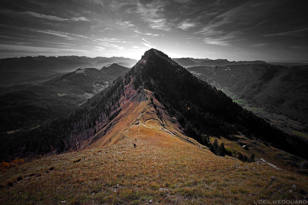 Le Col de la Cochette, Massif des Bauges, Savoie © L'Oeil d'Édouard
