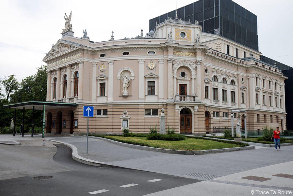 L'Opéra de Ljubljana, Slovénie