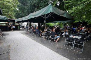 Le bar Jazz Club Gajo à Ljubljana, Slovénie