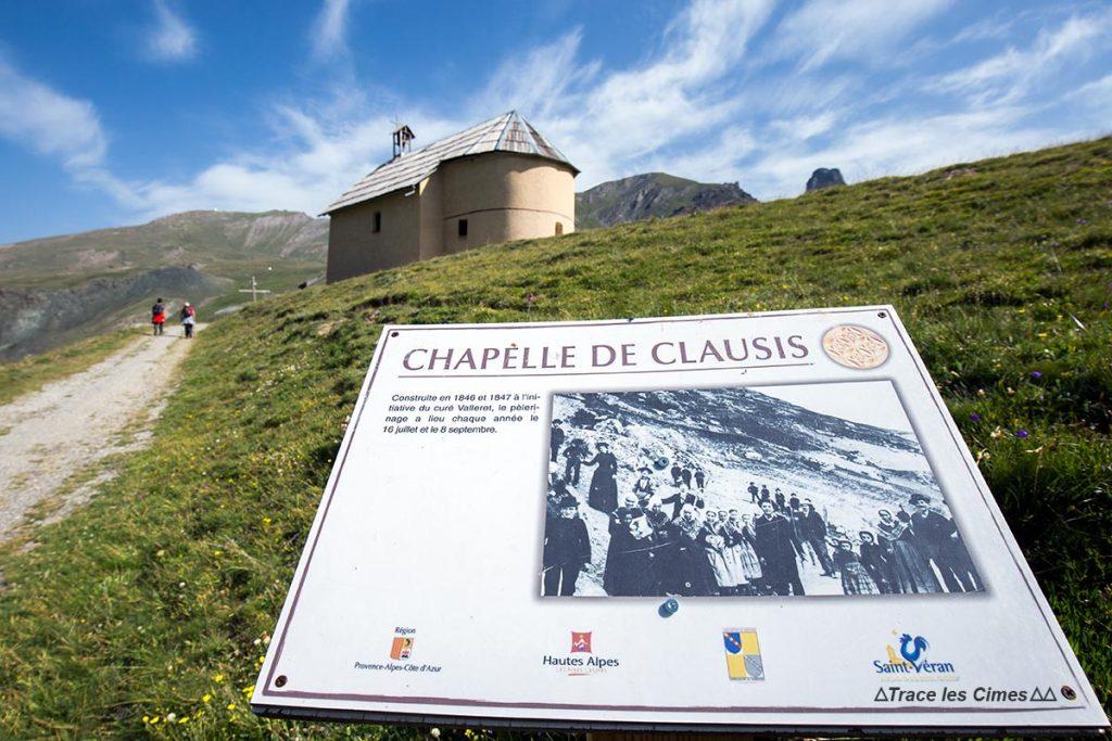 La Chapelle de Clausis, Queyras (Hautes-Alpes)