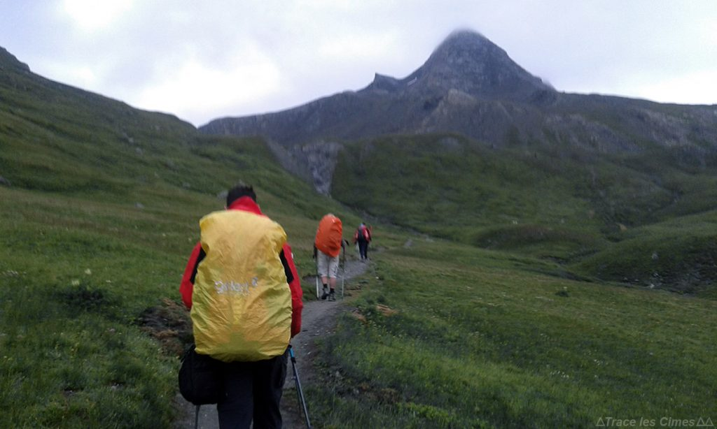 Le Pain de Sucre, Queyras (Hautes-Alpes) - Trek sous la pluie