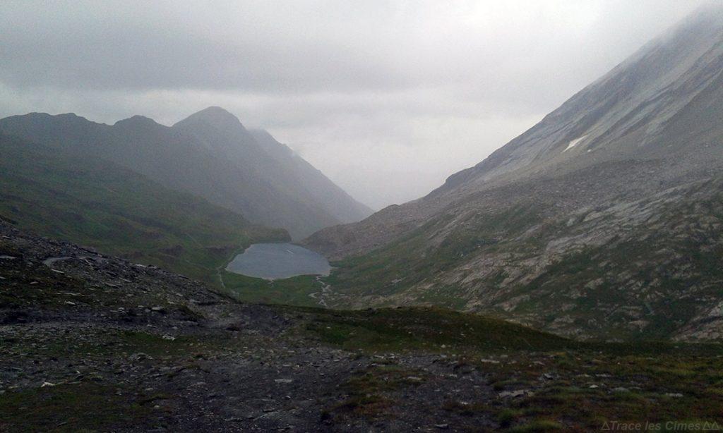 Le Col Vieux et Le Lac Foréant, Queyras (Hautes-Alpes) - Trek sous la pluie