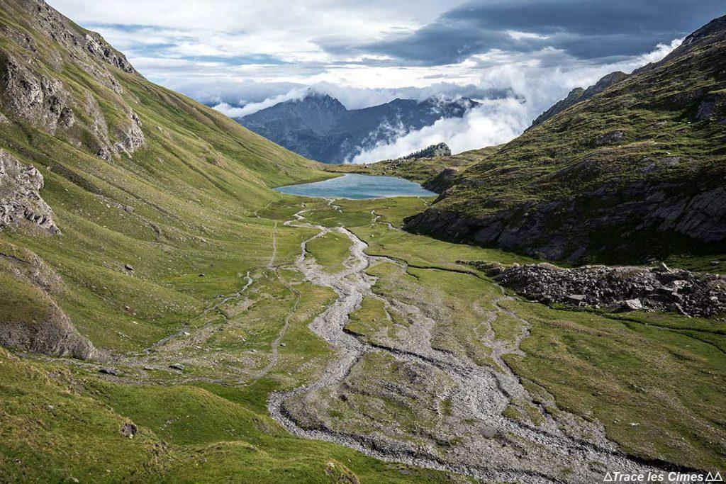 Le Lac Égorgéou, Queyras (Hautes-Alpes) - Trek sous la pluie