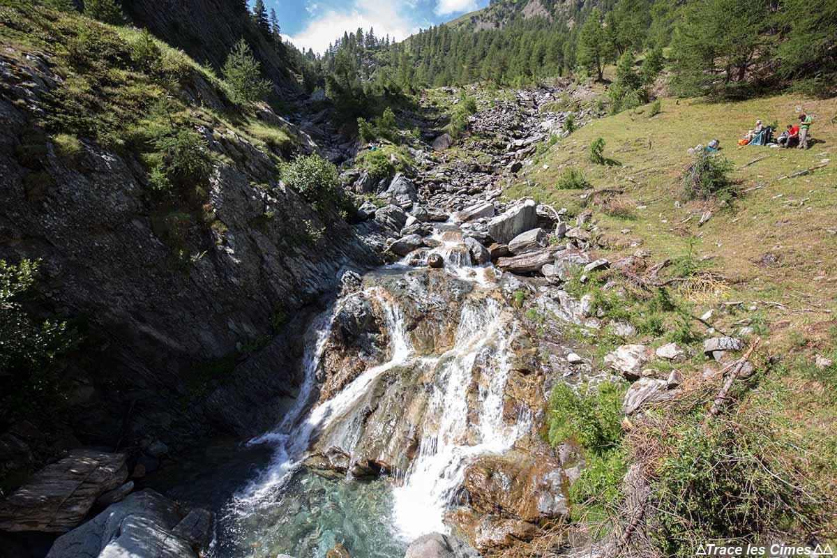 Le Torrent de Bouchouse, Parc Naturel Régional du Queyras (Hautes-Alpes)