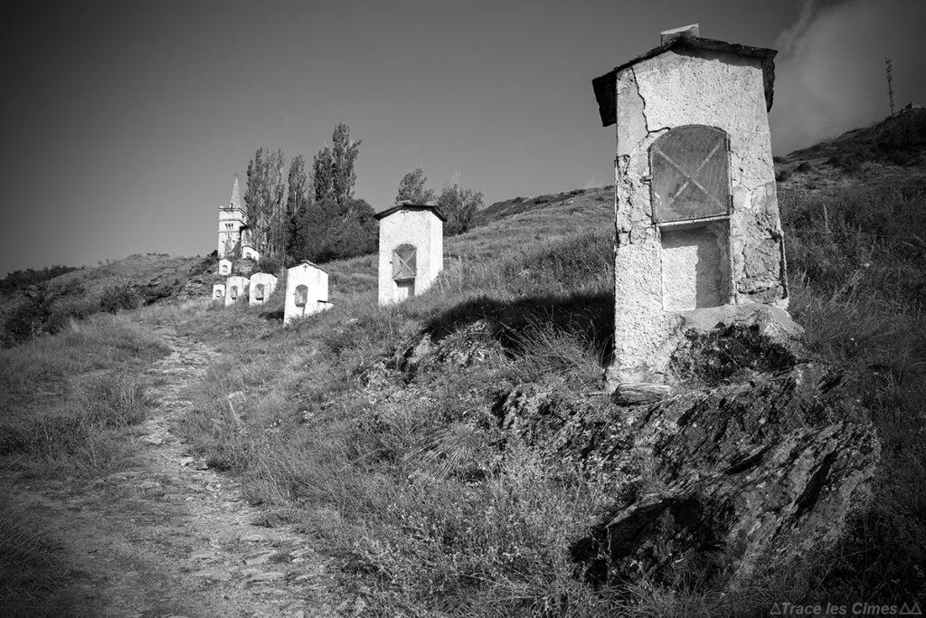 Chemin de Croix, Abriès - Queyras, Hautes-Alpes