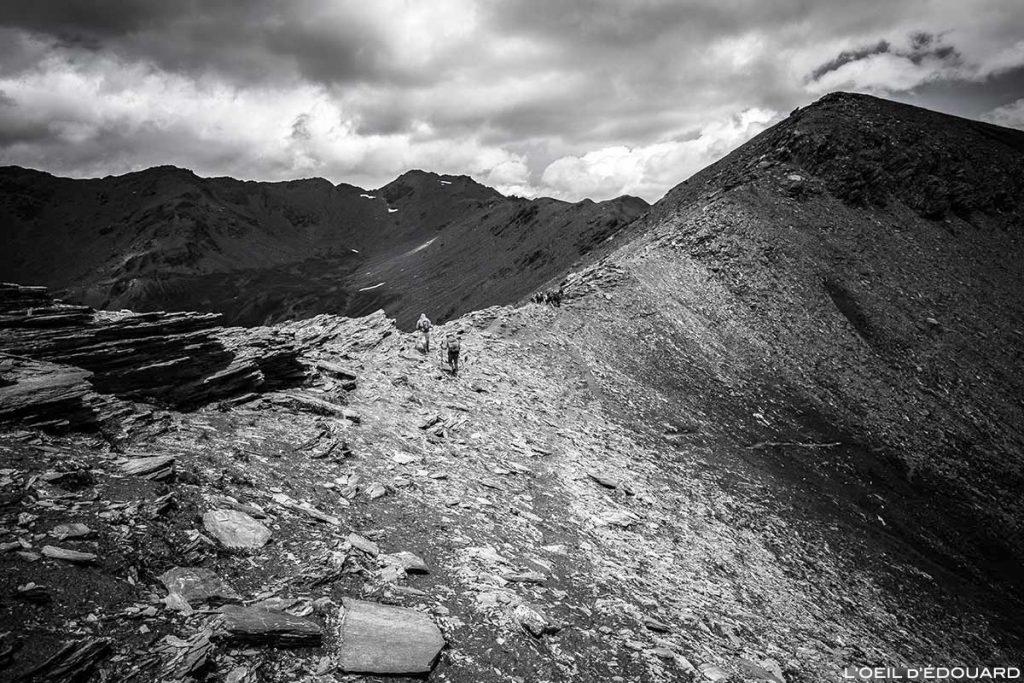 Le Col du Petit Malrif et le Pic du Malrif - Tour du Queyras GR 58, Hautes-Alpes