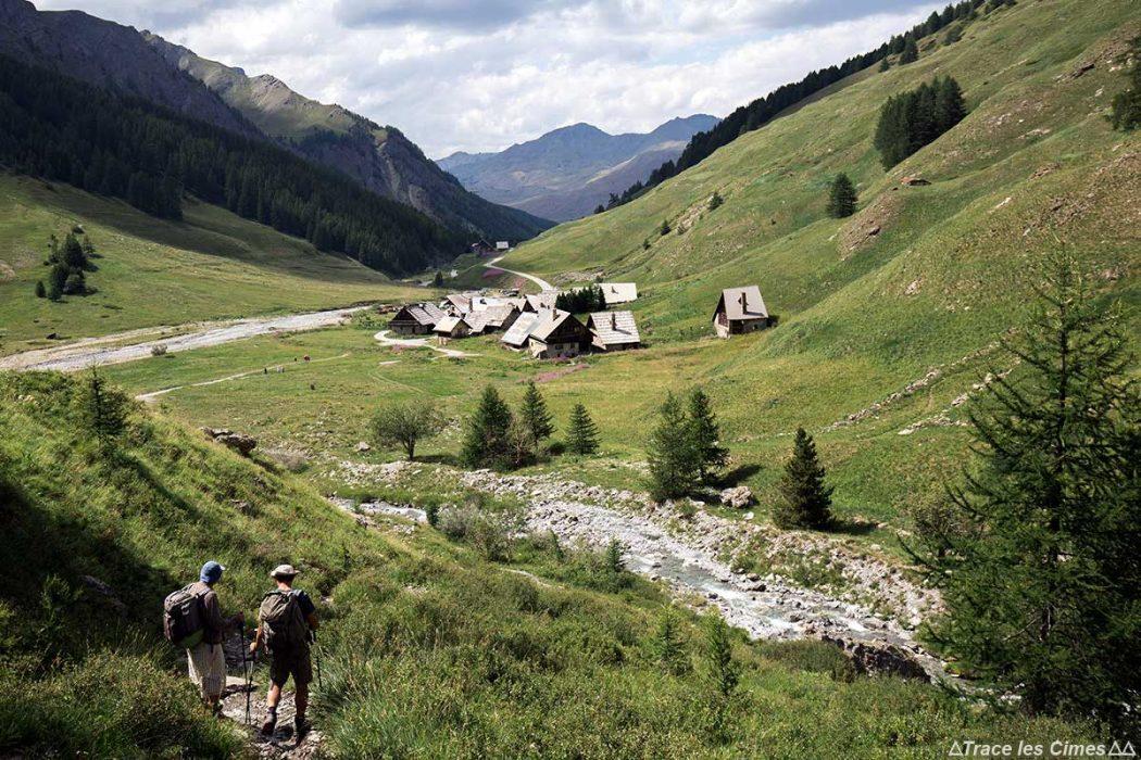 Le hameau des Fonts de Cervières - Tour du Queyras GR 58, Hautes-Alpes