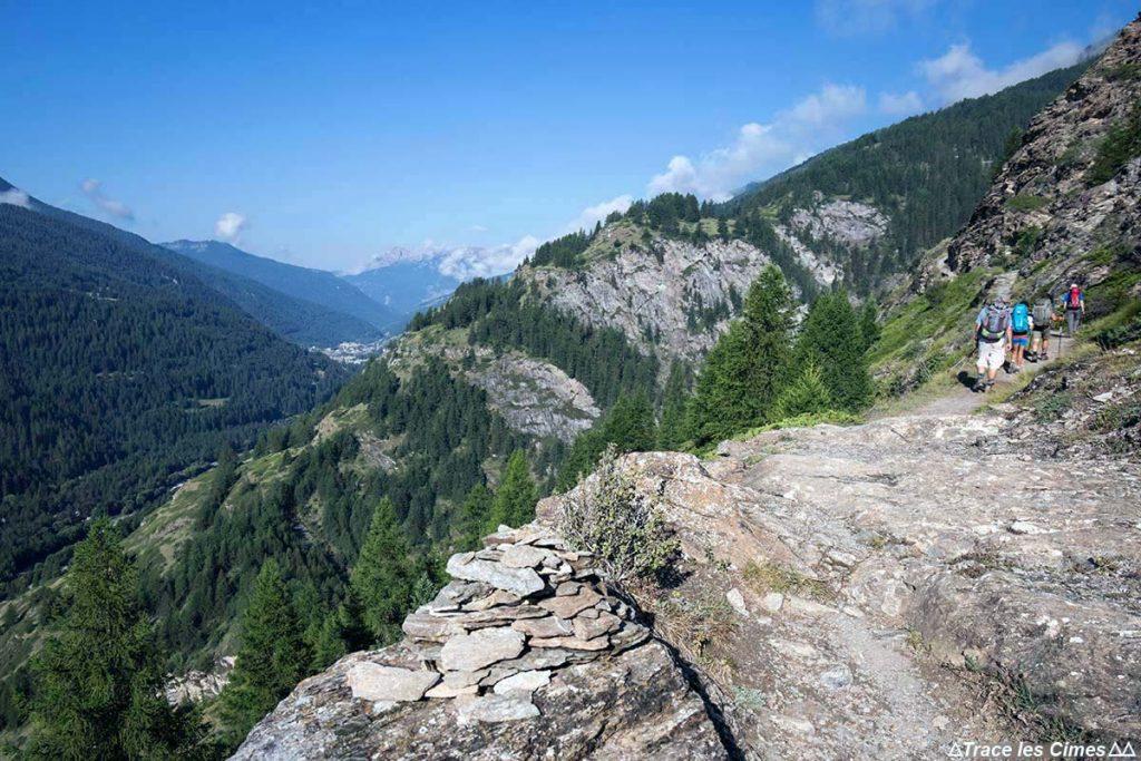 Sentier de randonnée GR 58 Tour du Queyras, Abriès (Hautes-Alpes)