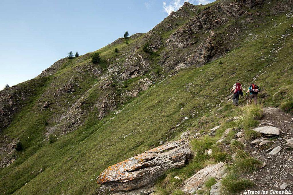 Sentier de randonnée GR 58 Tour du Queyras, Malrif (Hautes-Alpes)