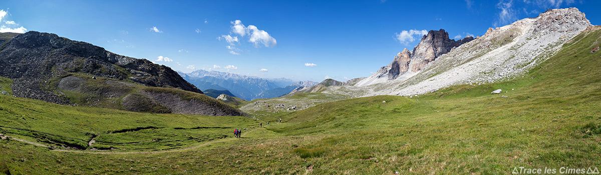 Le Col de Péas et la Crête de Rasis - Queyras, Hautes-Alpes
