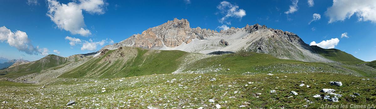 La Crête de Rasis vue depuis sous le Col de Péas - Queyras, Hautes-Alpes