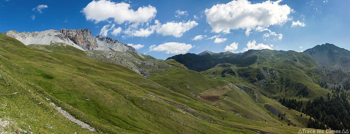 La Crête de Rasis et le Col de Péas - Queyras, Hautes-Alpes