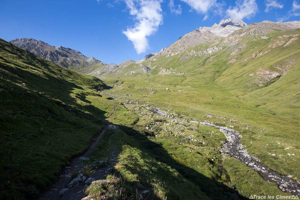 Le Ravin des Charmettes - Tour du Queyras GR 58, Hautes-Alpes