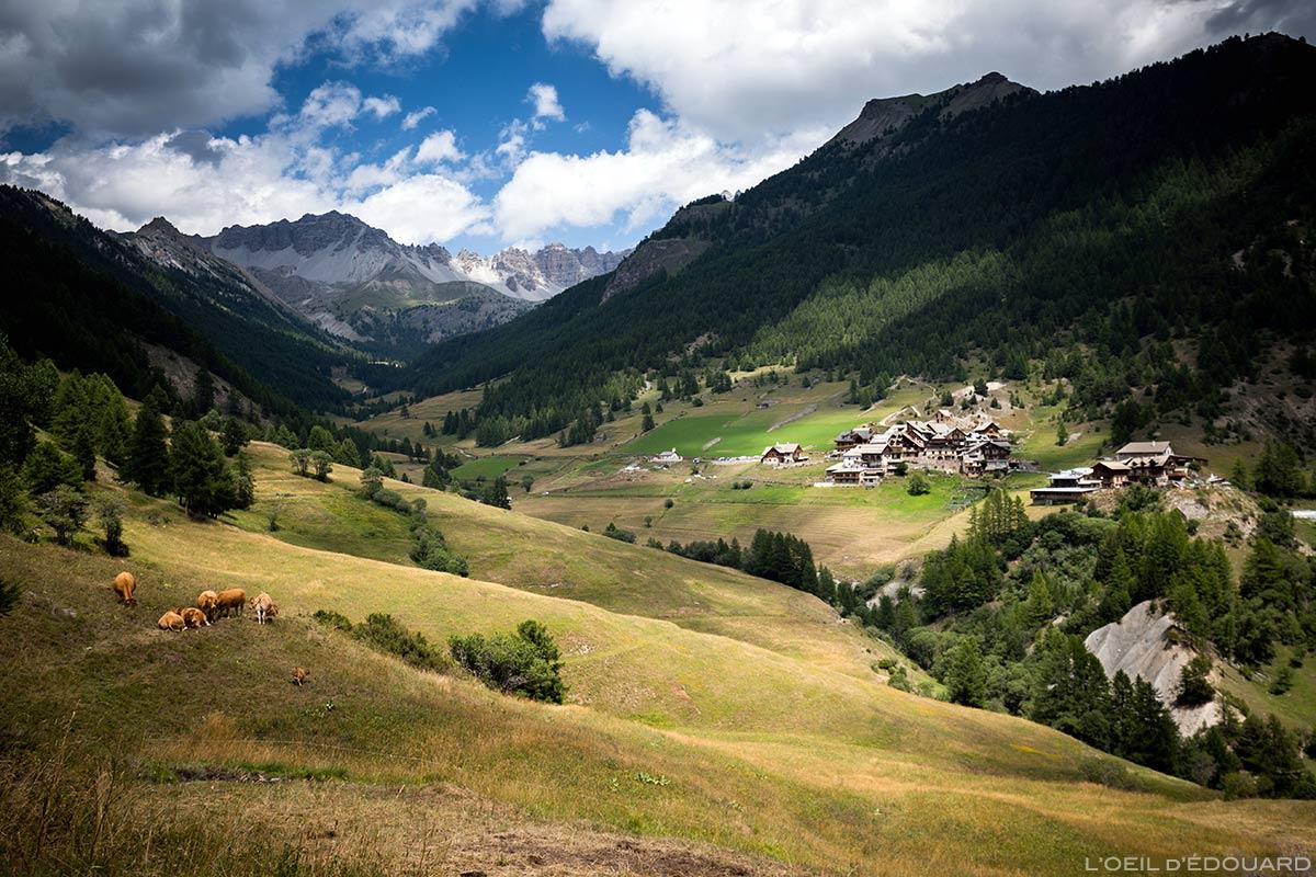 Village de Souliers - Queyras, Hautes-Alpes