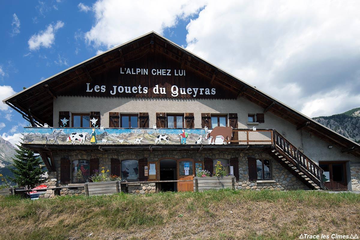 Magasin Musée Les Jouets du Queyras - La Chalp, Brunissard, Hautes-Alpes
