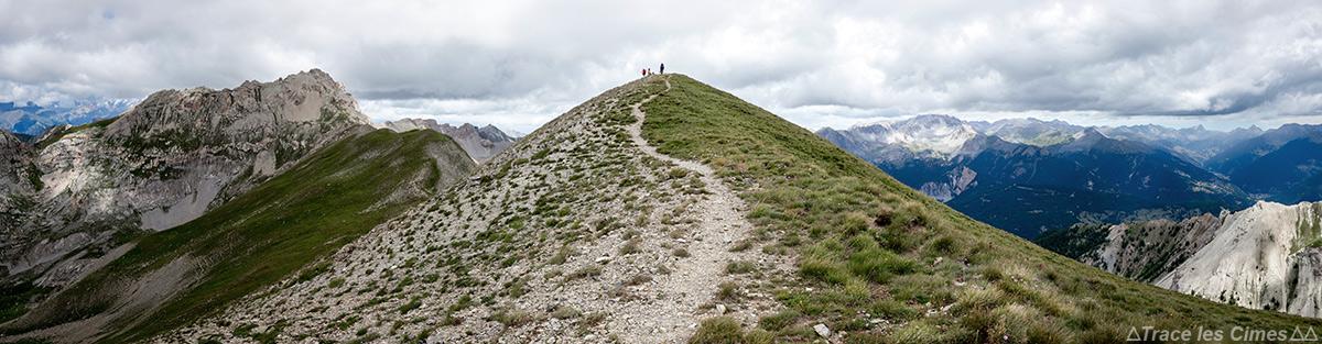 Le sommet du Pic du Gazon - Queyras, Hautes-Alpes