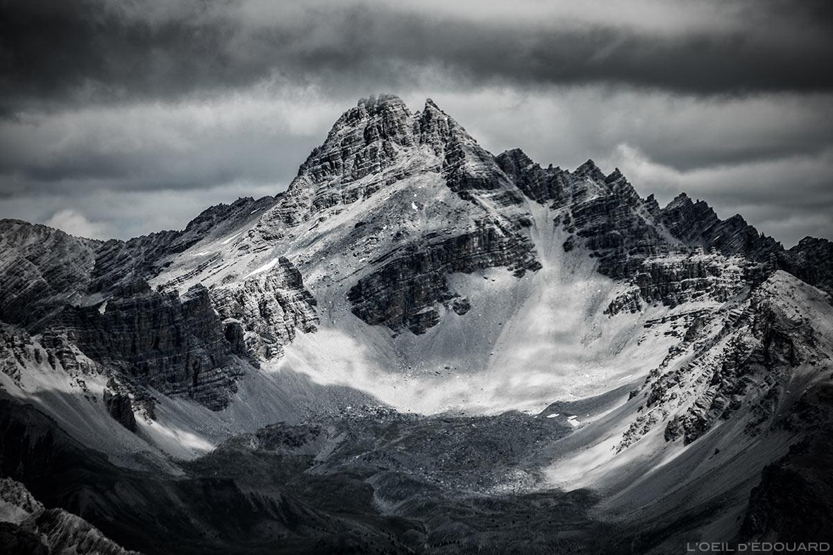 Le Pic de Rochebrune - Queyras, Hautes-Alpes © L'Oeil d'Édouard