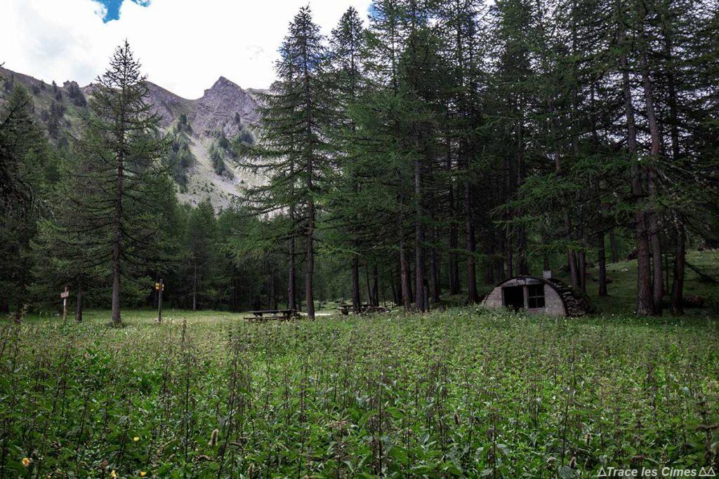 Cabane du Plan du Vallon - Queyras, Hautes-Alpes