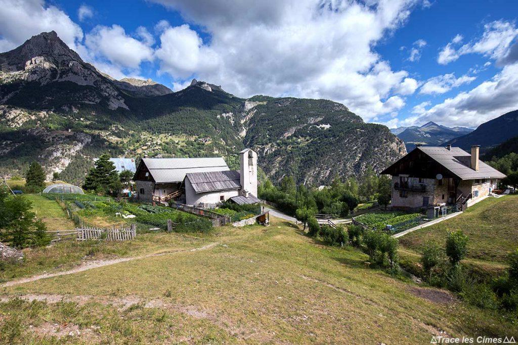 Hameau de Bramousse, Le Pontet - Queyras, Hautes-Alpes