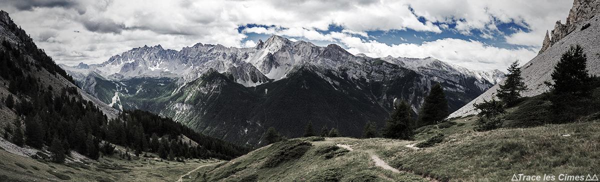 La Pointe de la Sauve depuis le Col de Bramousse, Queyras (Hautes-Alpes)