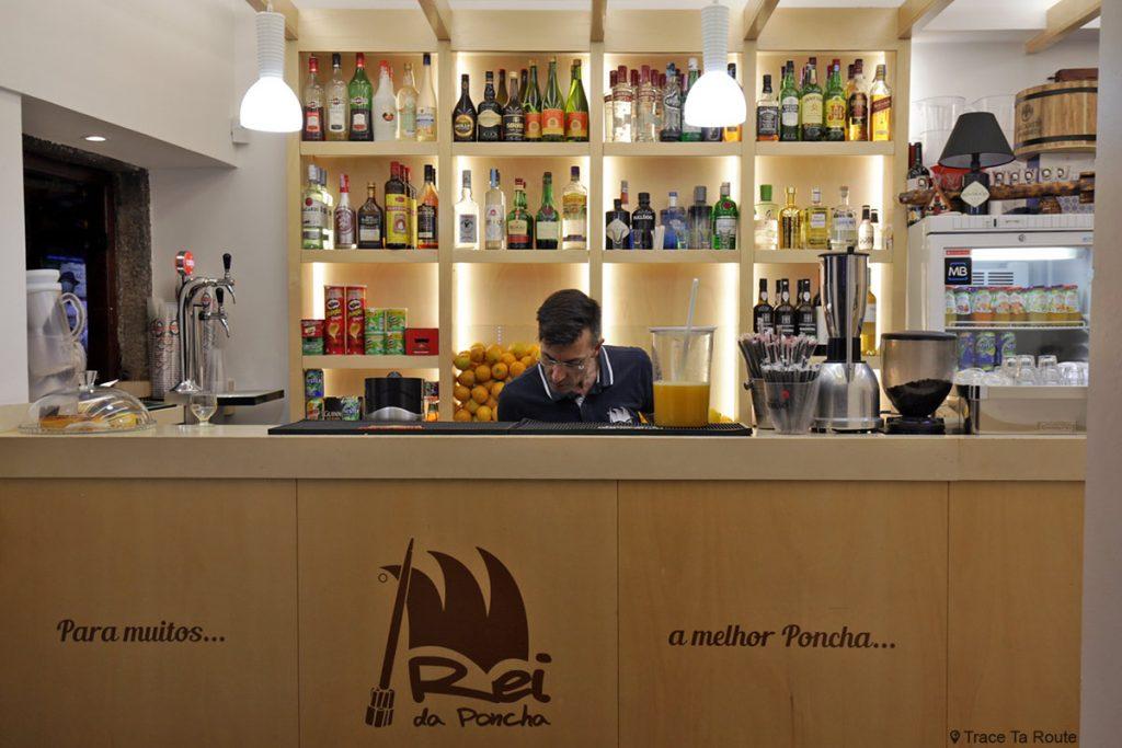 Bar à poncha Rei da Poncha à Funchal, Madère