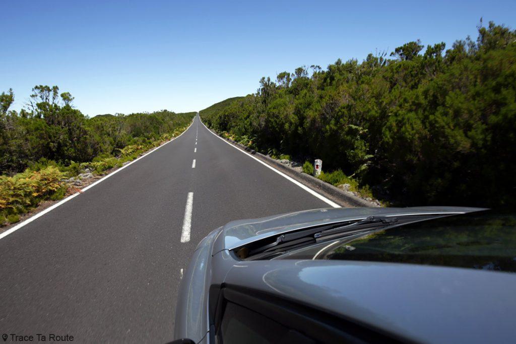 Route conduite voiture location Madère, Fanal (Nord-Ouest de l'île)