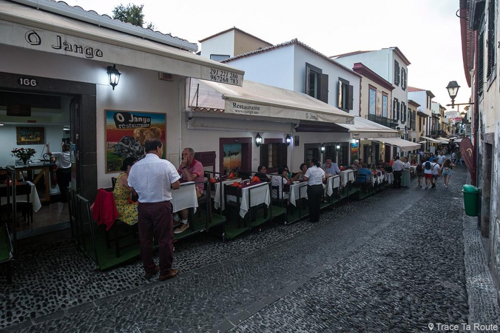 Restaurant O Jango - Rua de Santa Maria, Zona Velha, Funchal, Madère
