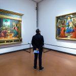 Salle Botticelli du Musée de la Galerie des Offices de Florence (Galleria degli Uffizi di Firenze)