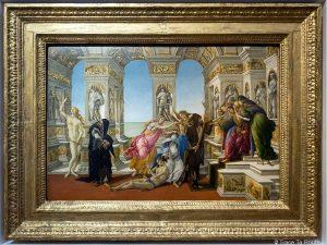 La Calomnie d'Apelle (vers 1495) Alessandro BOTTICELLI - Musée de la Galerie des Offices de Florence (Galleria degli Uffizi di Firenze)