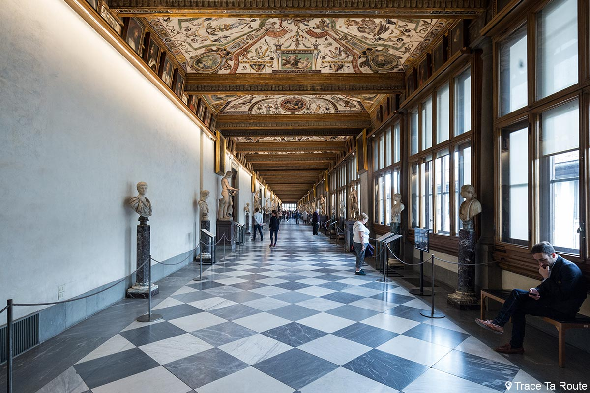 Trace la culture blog voyage arts architecture - Palais des offices florence ...