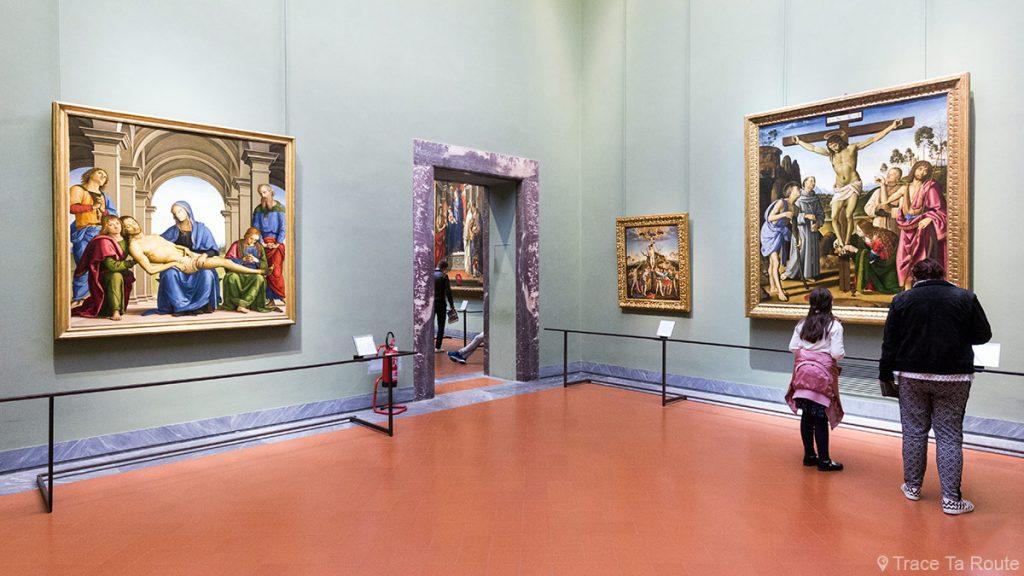 Salle 27 du Musée de la Galerie des Offices de Florence (Galleria degli Uffizi di Firenze) : Perugino