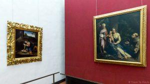 Salle des Peintures de CORREGIO - Musée de la Galerie des Offices de Florence (Galleria degli Uffizi di Firenze)