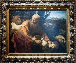 Le Sacrifice d'Isaac (1601-1602) LE CARAVAGE - Musée de la Galerie des Offices de Florence (Galleria degli Uffizi di Firenze)