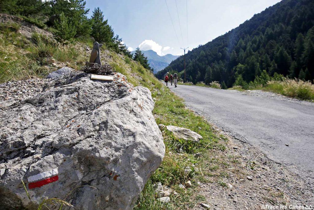 Sentier Itinéraire du GR 58 Tour du Queyras, départ depuis Ceillac