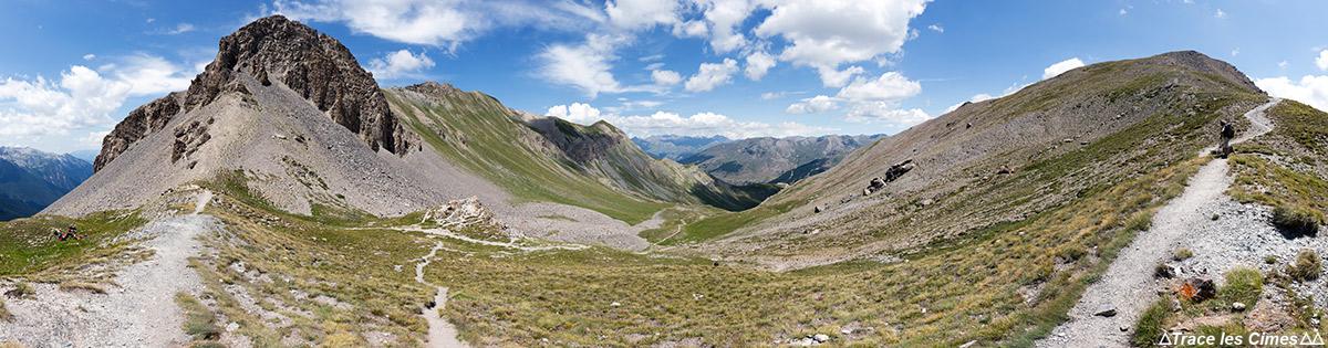 Le Col des Estronques, Queyras (Hautes-Alpes)
