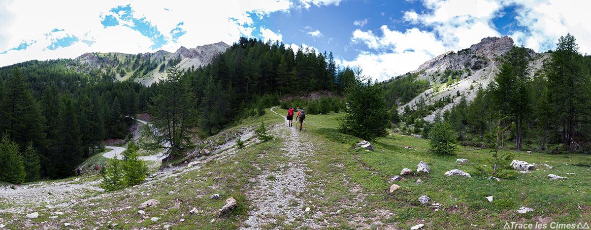 Sentier de randonnée du Plan du Vallon - Queyras, Hautes-Alpes