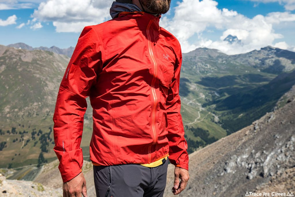 Test de la Veste Gore-Tex NORVAN ARC'TERYX isolation coupe-vent windstopper