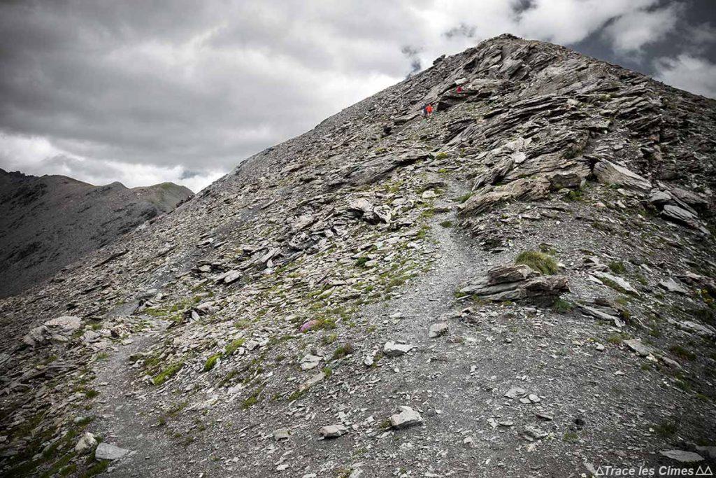Sentier Randonnée Pic du Malrif, Massif du Queyras (Hautes-Alpes)