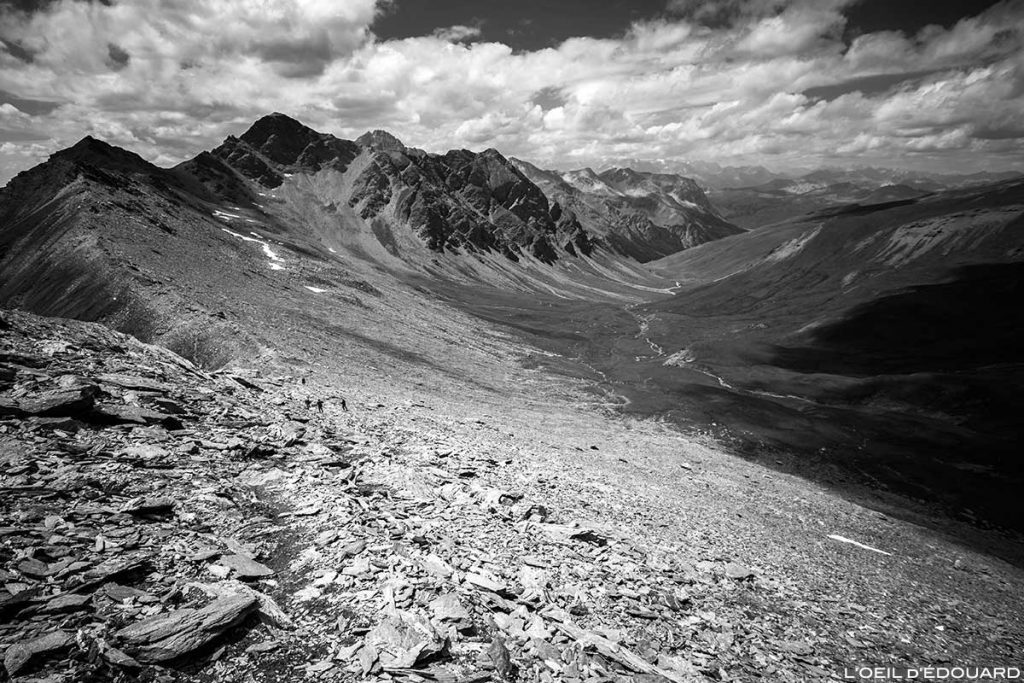 Le Vallon des Fonts de Cervières depuis le Pic du Malrif - Tour du Queyras GR 58, Hautes-Alpes